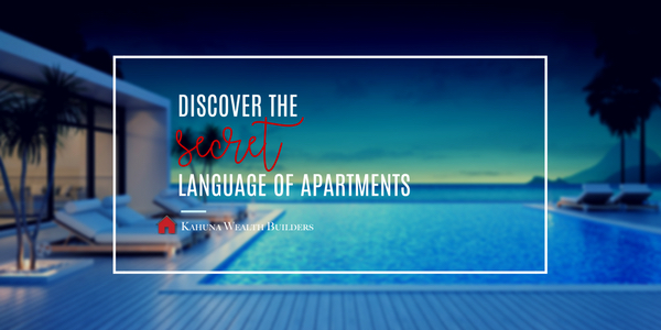 002: Discovering the Secret Language of Apartments
